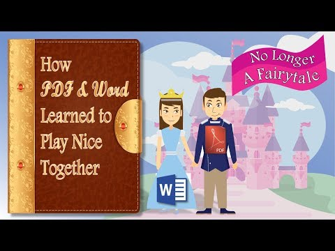 PDF and Word Learned to Play Nice Together