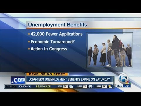 Long-term unemployment benefits expire this weekend
