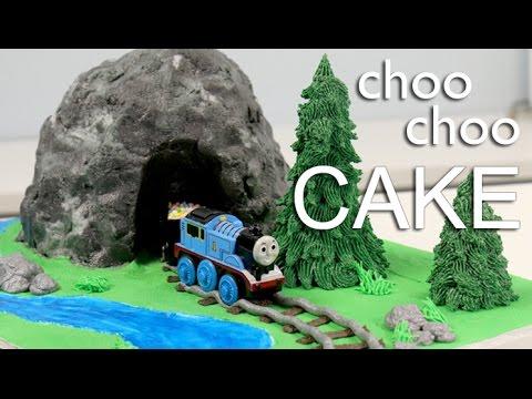 EASIEST Thomas the TRAIN CAKE!!