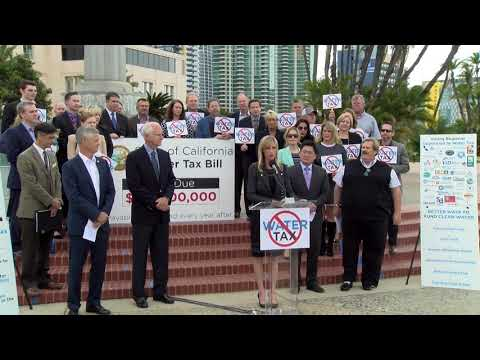 Group Of Local Officials Oppose State Water Tax Bill