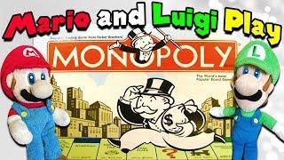 8 52 MB] Download Crazy Mario Bros - Mario and Luigi Play Monopoly