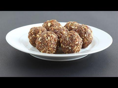 Dry Fruits Laddu | Nutritious Sweet | Healthy Festival Food