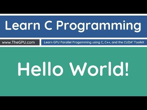 Learn C Programming - Hello World!
