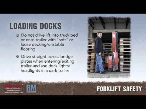 Toolbox Talk: Forklift Safety