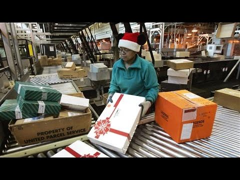 Holiday Online Orders Taking Longer to Arrive