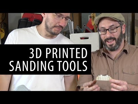 Talking About 3D Printed Sanding Tools with Punished Props