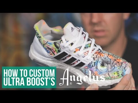 How to Water Your Boosts | Angelus Neon Paint & Water