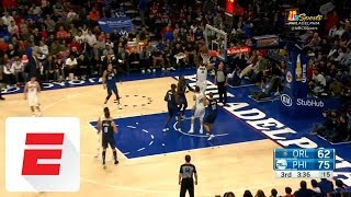 Joel Embiid gets double-double in 76ers' win over Magic: Watch the highlights | ESPN