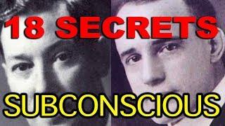 18 Secrets That Lie Hidden In Your Subconscious Mind (Neville Goddard, Napoleon Hill)