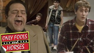 Del Crashes Rodney's Band Practise | Only Fools and Horses | BBC Comedy Greats