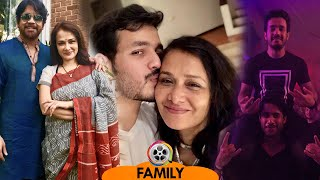 Amala Akkineni Family with Husband Nagarjuna, Sons Akhil & Naga Chaitanya