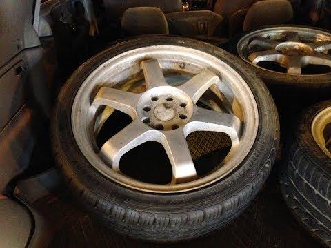New to me Wheels (Rims and Muffler) #budget #Civic #Honda