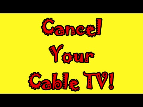 The Charter Cable Extortion Game - Cancel Your Cable TV!