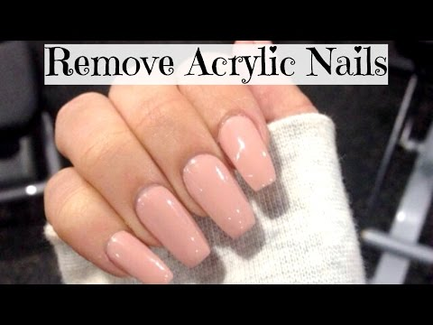 HOW TO: Remove Acrylic Nails (At Home-Easy) | SHONA FORSEY