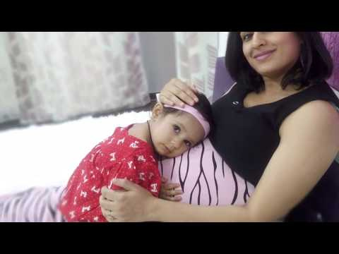 Maternity photoshoot with Dhyani (22 months old)