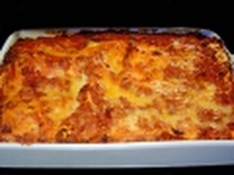 Christmas Lasagna how to make recipe with non traditional béchamel sauce