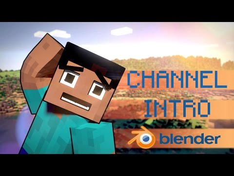 Create a Mincraft Youtube Intro : Blender Tutorial