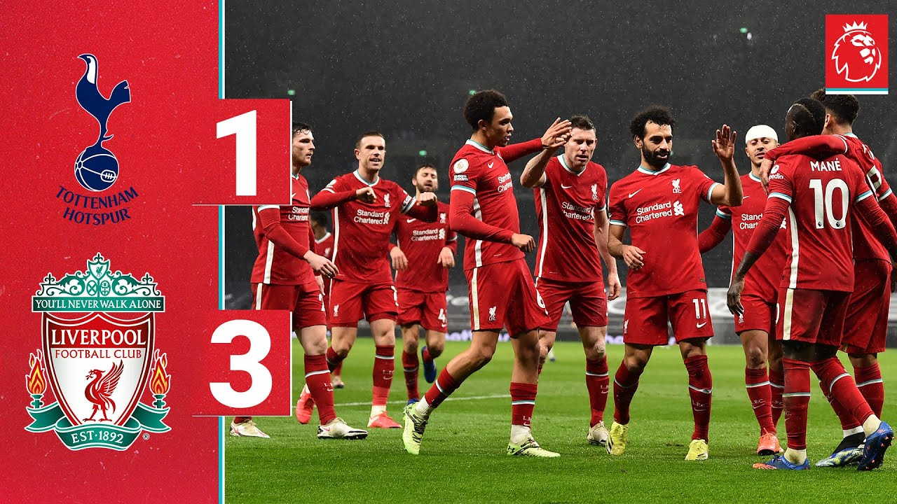 Highlights: Spurs 1-3 Liverpool   Firmino, Trent & Mane on target for emphatic Reds