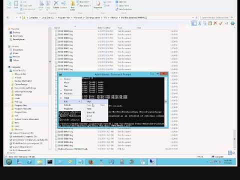 exchange 2013 DAG error 0xc8000713. Error: Unable to find the file.