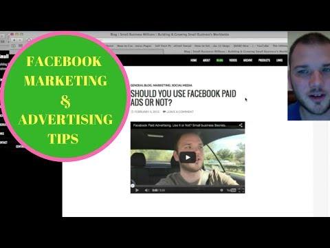 FREE Facebook Marketing & Advertising Tips & Tricks. Small Business Millions