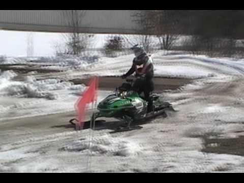 Learning Seatgrabs off freestyle ramp (SNOWMOBILE)