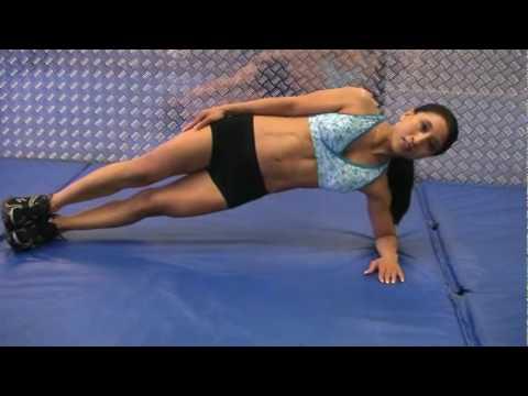 Core Exercises - Side Plank w/ Kat Painter (FitnessX.com)
