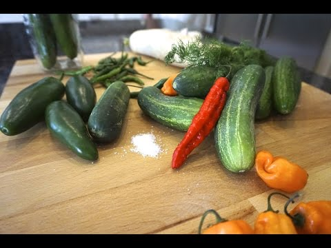 How to make dill pickles spicy