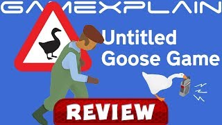 Untitled Goose Game REVIEW (Switch)