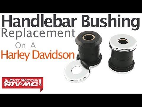 Harley Davidson Handlebar Bushing Replacement (All Non-Fairing Models)