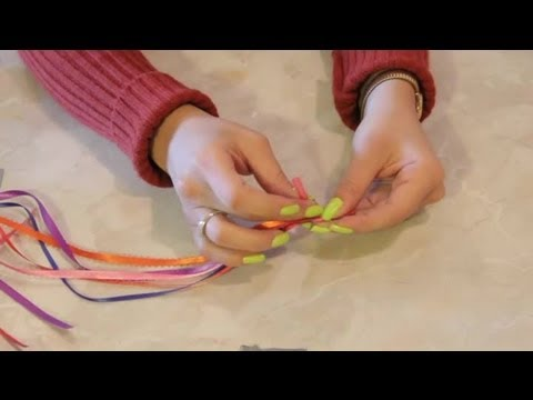 Color-Coded Ribbon Bible Bookmark Craft : Arts & Crafts