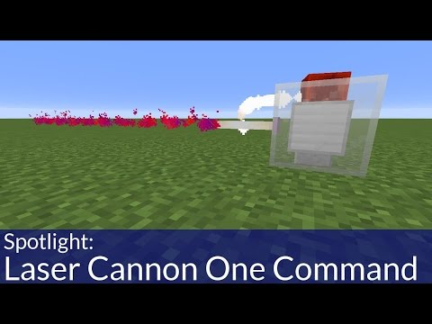 How To Make Laser Cannons in Minecraft Using One Command