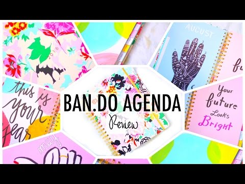 My New Planner! | BEST Planner Ever?! Ban.do Agenda Review