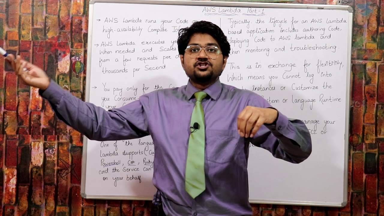 AWS Lambda Part-1-Hindi/Urdu | Serverless compute on AWS | What is AWS Lambda