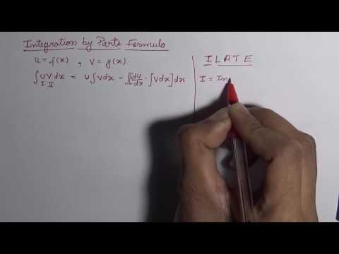 Integration by Parts Formula (Hindi)