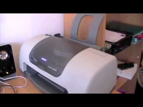 Epson printer waste ink pad counter reset