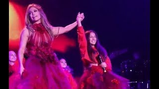 Jennifer Lopez duets with daughter Emme - Limitless Live - JLo It's My Party Tour