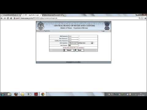 CENTRAL EXCISE REGISTRATION PROCEDURE HOW TO GET REGISTERED