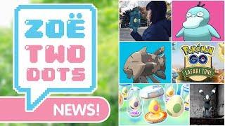 SHINY Psyduck, NEW Safari Zone, Hatchathon & MORE! Pokémon GO
