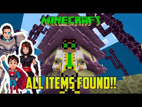 Minecraft: WE DID IT! ALL ITEMS FOUND! (Find the Items Minigame Mod PART 2)