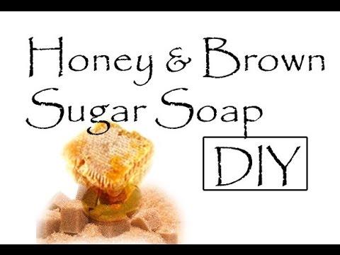 DIY Brown Sugar and Honey Soap (SO Easy!)