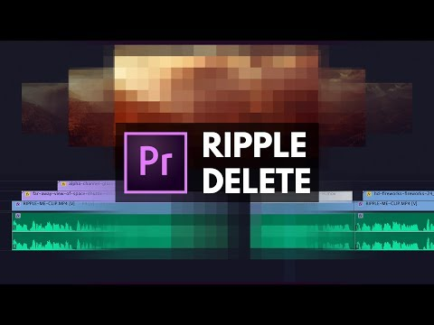 Edit FASTER with RIPPLE DELETE in Premiere Pro