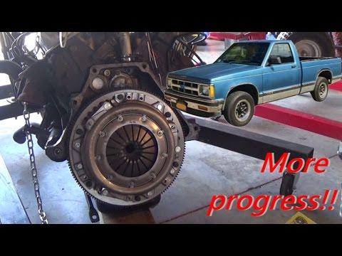 S10 Clutch & Flywheel Install