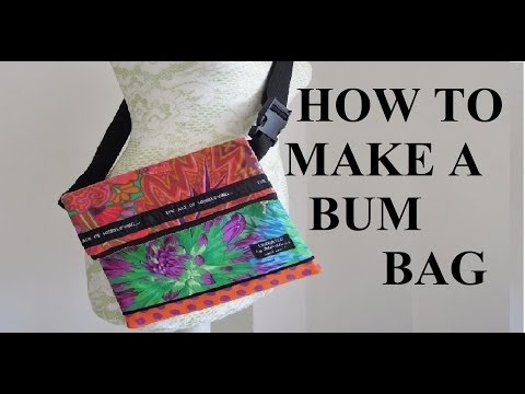 How to make a zipped lined bag (sewing for beginners )