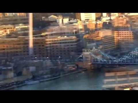 Views from, the aqua shard, restaurant, the Shard, London Bridge, London