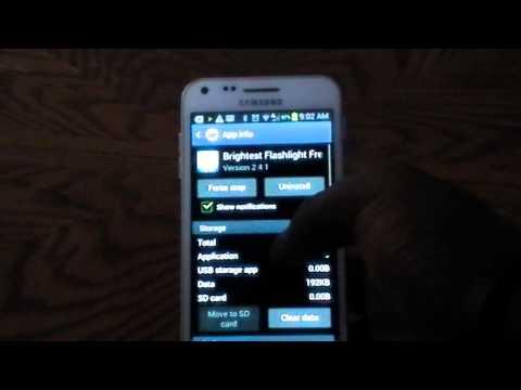 Transfer files to SD Storage (Samsung Galaxy S2)
