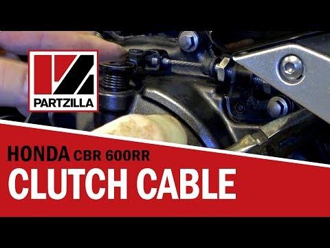 Motorcycle Clutch Cable Adjustment | Honda CBR | Partzilla.com