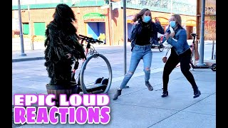 CRAZIEST Screams! | Bushman Prank | Fisherman's Wharf, San Francisco