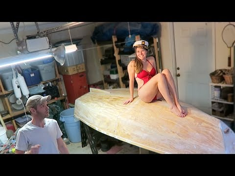 Building A Chameleon Sailing Dinghy | Painting Her Bottom #7
