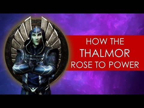 How the Thalmor rose to power: The Void Nights THEORY [ Skyrim lore l Elder Scrolls ]
