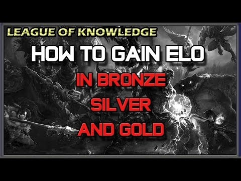 ✔ HOW TO WIN RANKED GAMES IN BRONZE - SILVER - GOLD | League of Legends | Season 4